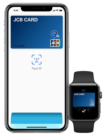 jcb apple pay